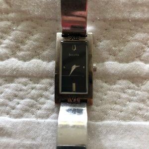 Silver Bulova Watch